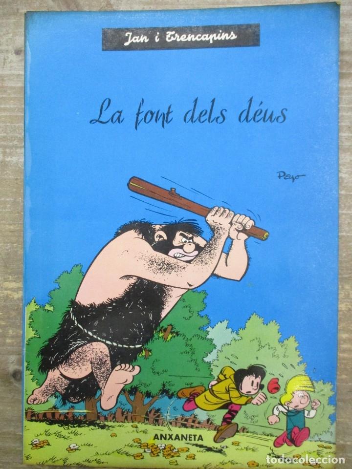 JAN I TRENCAPINS - LA FONT DELS DEUS - PEYO -ANXANETA (Tebeos y Comics - Comics otras Editoriales Actuales)