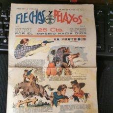 Cómics: FLECHAS Y PELAYOS. 15 OCTUBRE DE 1939. Lote 182526112