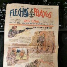 Cómics: FLECHAS Y PELAYOS. 5 NOVIEMBRE 1939. MUY BUEN ESTADO. Lote 182527276