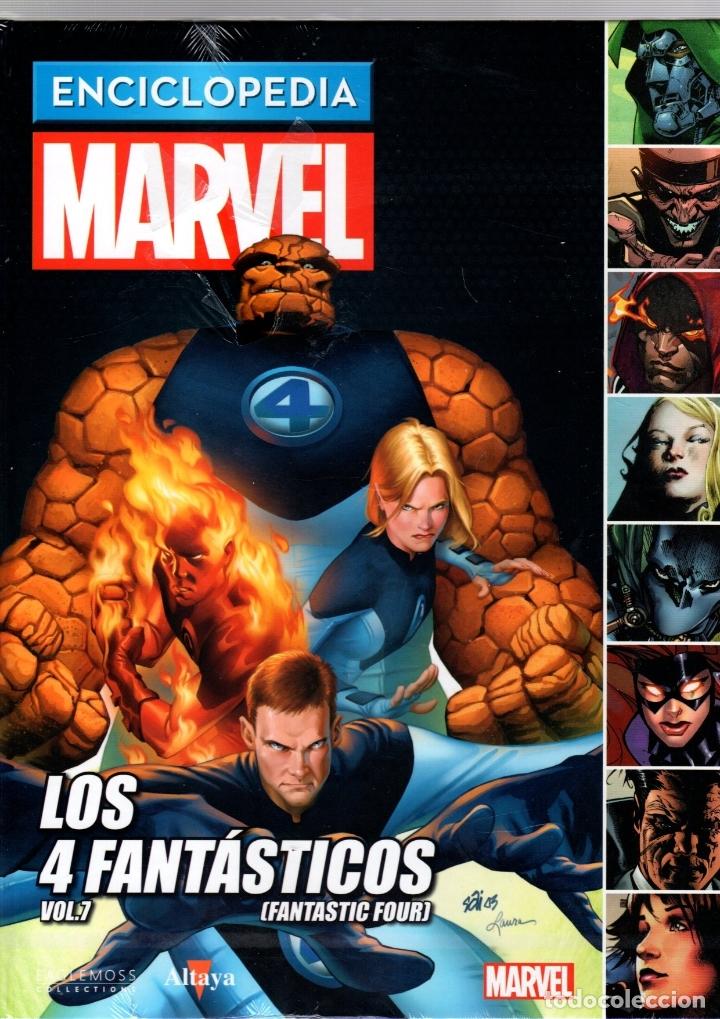 ENCICLOPEDIA MARVEL. VOL. 7. Nº 51. LOS 4 FANTASTICOS. ALTAYA (Tebeos y Comics - Comics otras Editoriales Actuales)