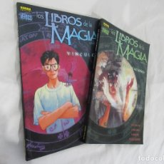 Cómics: LOS LIBROS DE LA MAGIA TOMOS 1 Y 2 COMPLETA NORMA. Lote 182619761
