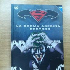 Cómics: LA BROMA ASESINA Y ROSTROS (BATMAN SUPERMAN COLECCIONABLE #4) (ECC EDICIONES). Lote 182674237