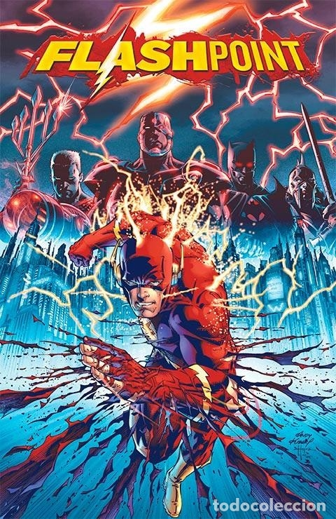 FLASHPOINT 1 - ECC / DC EDICIÓN XP / TAPA DURA PORTADAS LENTICULARES (Tebeos y Comics - Comics otras Editoriales Actuales)