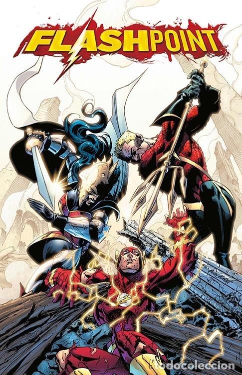 FLASHPOINT 3 - ECC / DC EDICIÓN XP / TAPA DURA PORTADAS LENTICULARES (Tebeos y Comics - Comics otras Editoriales Actuales)