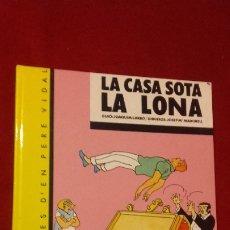 Cómics: PERE VIDAL 4 - LA CASAS SOTA LA LONA - MADORELL - ED. CASALS - CARTONE - EN CATALAN. Lote 182842406