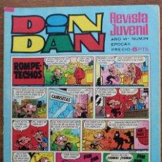 Cómics: DIN DAN AÑO VI Nº 178 EPOCA II - 1971. Lote 182981287