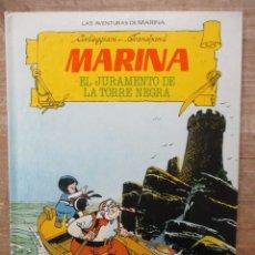 Cómics: MARINA - Nº 1 - EL JURAMENTO DE LA TORRE NEGRA - TORAY. Lote 182993910