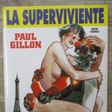 Cómics: LA SUPERVIVIENTE INTEGRAL - PAUL GILLON - TOMO - EDICION COMPLETA - NEW COMIC. Lote 183009202