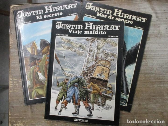 COLECCION COMPLETA - JUSTIN HIRIART - 3 TOMOS - FRUCTUOSO / HARRIET - TTARTTALO (Tebeos y Comics - Comics otras Editoriales Actuales)
