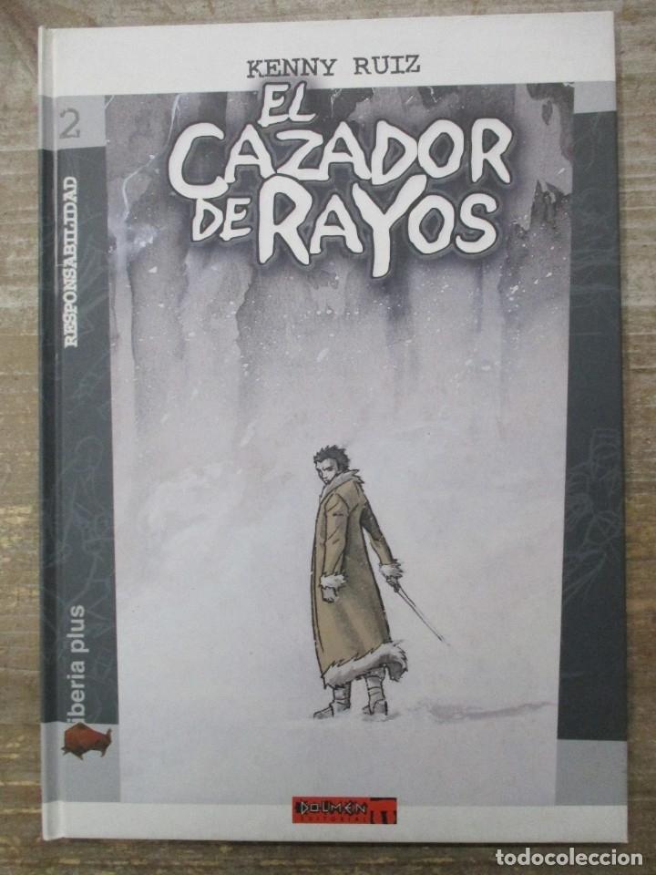 EL CAZADOR DE RAYOS - KENNY RUIZ - TAPA DURA - DOLMEN EDITORIAL (Tebeos y Comics - Comics otras Editoriales Actuales)