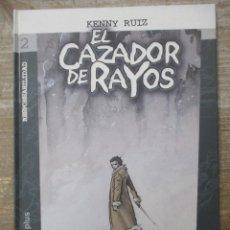 Cómics: EL CAZADOR DE RAYOS - KENNY RUIZ - TAPA DURA - DOLMEN EDITORIAL. Lote 183011318