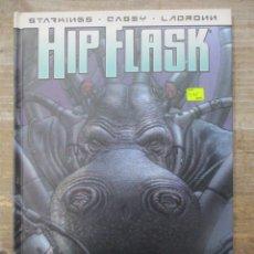 Cómics: HIP FLASK - SELECCION NO NATURAL - TAPA DURA - DOLMEN EDITORIAL. Lote 183011553