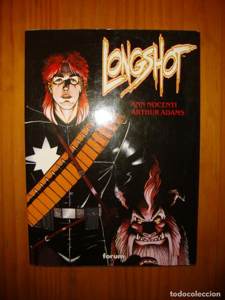 LONGSHOT - ANN NOCENTI, ARTHUR ADAMS - FORUM, MUY BUEN ESTADO (Tebeos y Comics Pendientes de Clasificar)