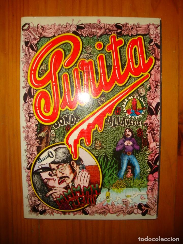 PURITA. CÓMIC UNDERGROUND ESPAÑOL - MANDRÁGORA, 1975 (Tebeos y Comics Pendientes de Clasificar)
