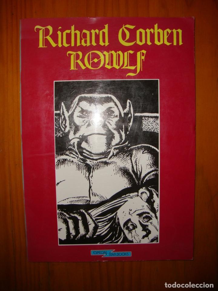 ROWLF - RICHARD CORBEN - ESPECIAL STAR BOOKS, MUY BUEN ESTADO (Tebeos y Comics Pendientes de Clasificar)