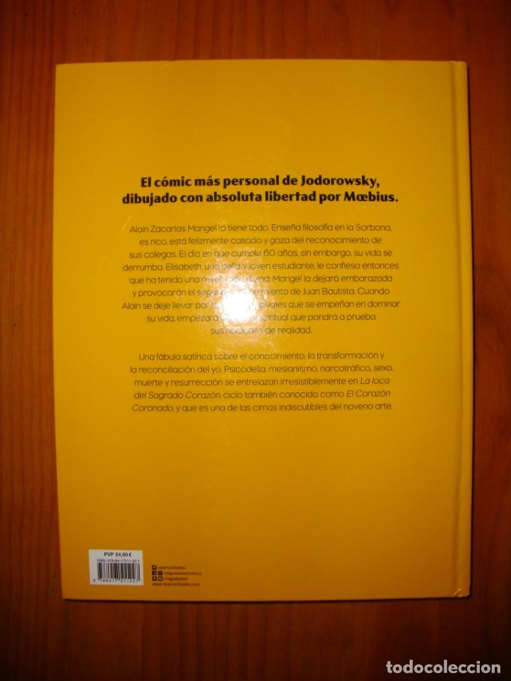 Cómics: LA LOCA DEL SAGRADO CORAZÓN. INTEGRAL - JODOROWSKY / MOEBIUS - RESERVOIR BOOKS, EXCELENTE ESTADO - Foto 3 - 183040351