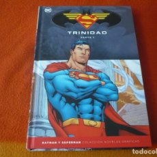 Comics: TRINIDAD PARTE 1 SUPERMAN BATMAN NOVELAS GRAFICAS ESPECIAL ¡MUY BUEN ESTADO! DC TAPA DURA SALVAT ECC. Lote 183074002