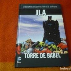 Comics: JLA TORRE DE BABEL DC NOVELAS GRAFICAS 4 ( WAID PORTER ) ¡MUY BUEN ESTADO! SALVAT ECC. Lote 183076812