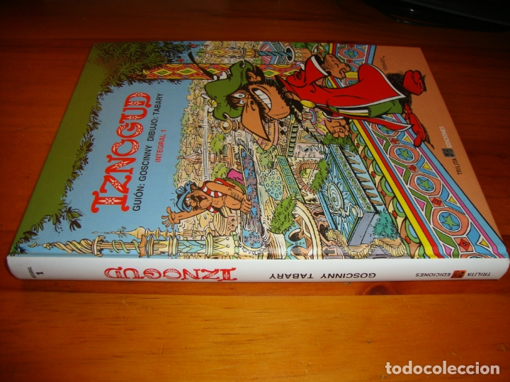 Cómics: IZNOGUD. INTEGRAL 1 - GUIÓN: GOSCINNY, DIBUJO: TABARY - TRILITA EDICIONES, COMO NUEVO, RARO - Foto 2 - 183169173