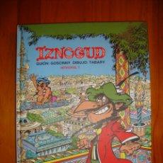 Cómics: IZNOGUD. INTEGRAL 1 - GUIÓN: GOSCINNY, DIBUJO: TABARY - TRILITA EDICIONES, COMO NUEVO, RARO. Lote 183169173