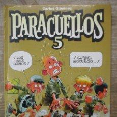 Cómics: PARACUELLOS - Nº 5 - CARLOS GIMENEZ - TAPA DURA - GLENAT . Lote 183178700