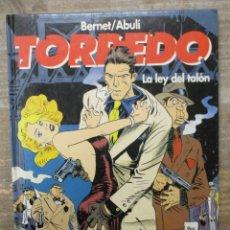 Cómics: TORPEDO - BERNET / ABULÍ - Nº 8 - LA LEY DEL TALON - TAPA DURA - GLENAT . Lote 183179085