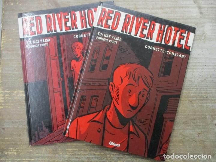 RED RIVER HOTEL - TOMO 1 Y 2 - TAPA DURA - GLENAT (Tebeos y Comics - Comics otras Editoriales Actuales)