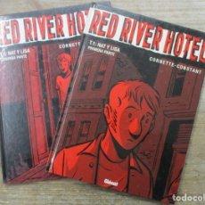 Cómics: RED RIVER HOTEL - TOMO 1 Y 2 - TAPA DURA - GLENAT . Lote 183179392