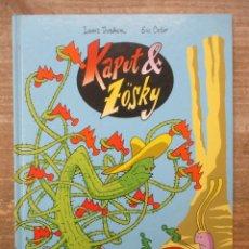 Cómics: KAPUT Y ZOSKY - COLECCION COMPLETA - 2 TOMOS - TAPA DURA - GLENAT . Lote 183179642
