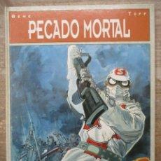 Cómics: PECADO MORTAL. - BEHE / TOFF - TAPA DURA - GLENAT . Lote 183184508