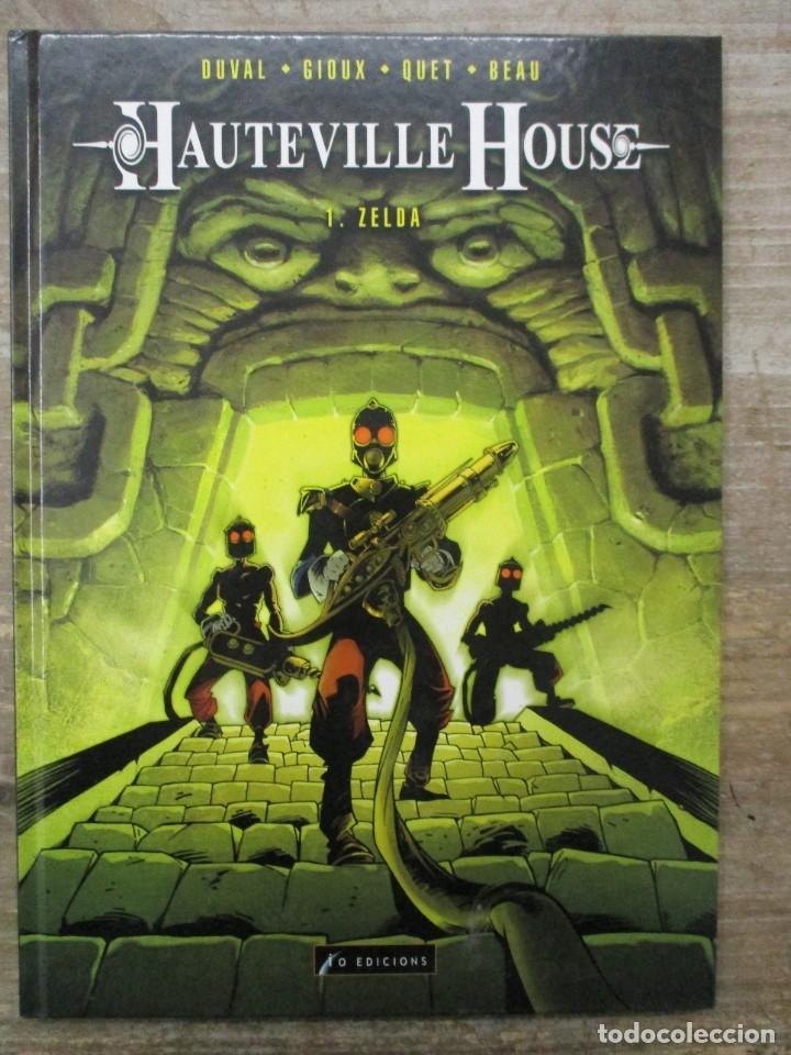 HAUTEVILLE HOUSE -COLECCION COMPLETA - 3 TOMOS - TAPA DURA - (Tebeos y Comics - Comics otras Editoriales Actuales)
