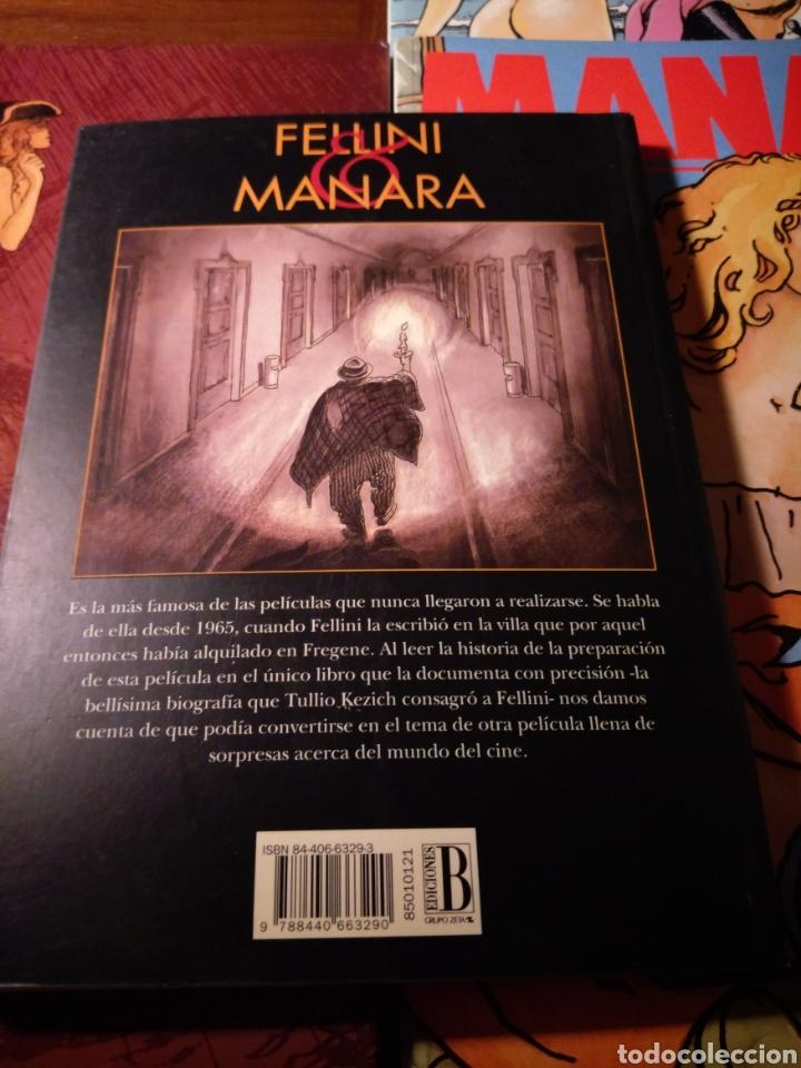 Cómics: Lote Manara: El viaje de G. Mastorna, Viaje a Tulum, Gulliveriana, Candid Camera - Foto 2 - 183213728
