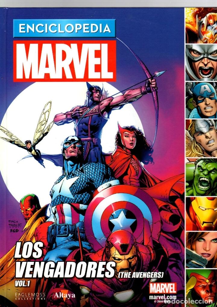 ENCICLOPEDIA MARVEL. VOL. 1. Nº 2. LOS VENGADORES. ALTAYA (Tebeos y Comics - Comics otras Editoriales Actuales)