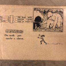 Cómics: CASTRELLIS ESPECIAL CÓMICS (VIGO 1984). HISTÓRICO FANZINE; GUS HERNÁNDEZ, EMILIO RODRÍGUEZ, QUIQUE. Lote 183300523