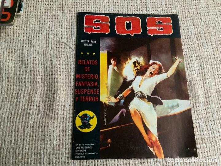 SOS - 2ª SERIE - Nº 5 - HISTORIA DE TERROR, INTRIGA, MISTERIO Y SUSPENSE (Tebeos y Comics - Comics otras Editoriales Actuales)