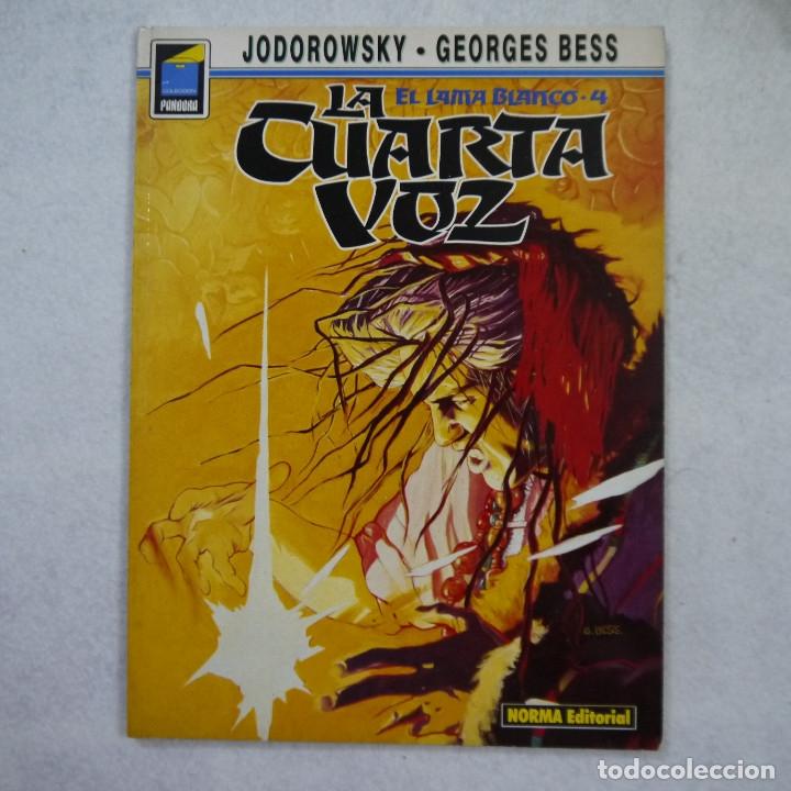 EL LAMA BLANCO N.º 4. LA CUARTA VOZ - JODOROWSKY Y GEORGES BESS - NORMA EDITORIAL - 1991 (Tebeos y Comics - Comics otras Editoriales Actuales)
