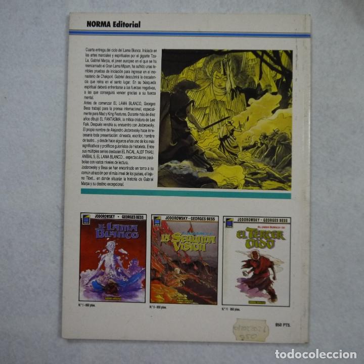 Cómics: EL LAMA BLANCO N.º 4. LA CUARTA VOZ - JODOROWSKY Y GEORGES BESS - NORMA EDITORIAL - 1991 - Foto 2 - 183314973