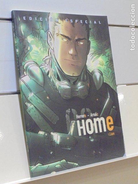 EDICION ESPECIAL HOME 1. LIAM HERRERO Y ARNAIZ - HOMETHECOMIC - OCASION (Tebeos y Comics - Comics otras Editoriales Actuales)