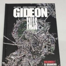 Cómics: GYDEON FALLS Nº 1 - EL GRANERO NEGRO / JEFF LEMIRE - ANDREA SORENTINO / ASTIBERRI. Lote 183319772