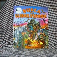 Cómics: BUSCA EN EL LLIBRE DE TERROR, EDITORIAL SUSAETA, CATALAN.. Lote 183326657