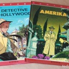 Cómics: EL DETECTIVE EN HOLLYWOOD 1 4 (AMERIKA) COMPLETA - RIVIERE / BOCQUET - ED JUVENTUD, 1ª EDICIÓN - 2. Lote 183346435