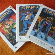 Cómics: SPIRIT 1 AL 3 ¡COMPLETA! ¡BUEN ESTADO! BIBLIOTECA EL MUNDO 29, 30 Y 31 GRANDES HEROES DEL COMIC. Lote 183361991