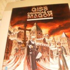Cómics: GISS CRÓNICAS DE MAGÓN. 1. LOS HIJOS DE LA CIBERCARNE. JARRY LAPEYRE BRANTS ROSSELL 2005 (SEMINUEVO). Lote 183408850