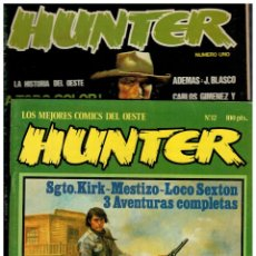 Cómics: HUNTER - COLECCIÓN COMPLETA 1 AL 12 - RIEGO EDICIONES / NORMA EDITORIAL.. Lote 183414587