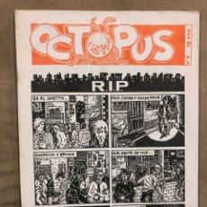 Cómics: OCTOPUS N° 6 (VITORIA 1983). HISTÓRICO FANZINE ORIGINAL; HISTORIETAS, CÓMICS. MAURO ENTRIALGO, KINI. Lote 183421978
