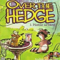 Cómics: OVER THE HEDGE Nº 1 PICNIC URBANO (MICHAEL FRY / T. LEWIS) ED. AZAKE - MUY BUEN ESTADO - OFI15T. Lote 183527977