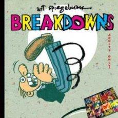 Cómics: BREAKDOWNS (ART SPIEGELMAN) RETRATO DEL ARTISTA COMO UN JOVEN - RESERVOIR BOOKS COMO NUEVO - OFI15T. Lote 183529125