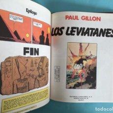 Cómics: METAL HURLANT - 10 CÓMICS DE PAUL GILLON Y DE DOMINIQUE HE , ENCUADERNACIÓN DE LUJO - VER FOTOS. Lote 183603496