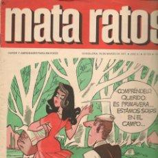 Cómics: MATA RATOS. Nº 199. 15 MARZO 1971. (P/C52). Lote 183608142