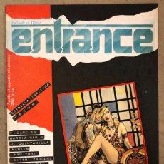 Cómics: ENTRANCE N° 1 (PALMA MALLORCA 1984). HISTÓRICO FANZINE; ESTRELLA INVITADA: TATUM, T. GARCÍAS, GARCÍA. Lote 171975889